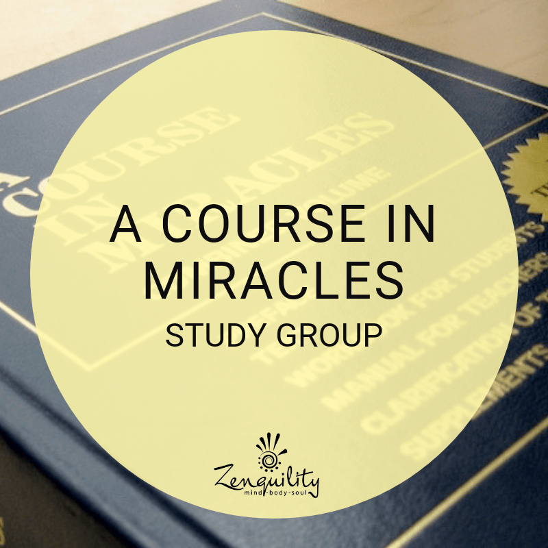 A Course in Miracles (ACIM) Study Group
