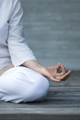 Stay centered through meditation