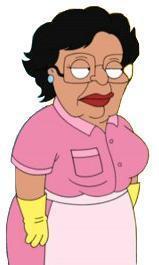 "Consuela, the maid from ""Family Guy"""