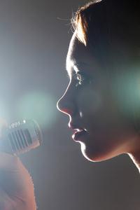Scared singer